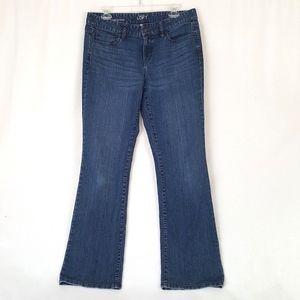 Ann Taylor LOFT Womens Bootcut Jeans Size 8